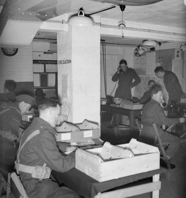 Cabinet War Rooms during World War II
